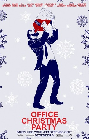 Office Рождество Party (2016) Poster