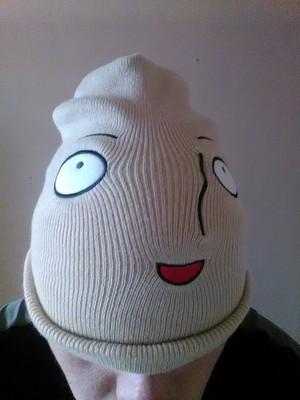 One coup de poing Man Beanie