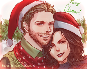 Outlaw Queen Christmas