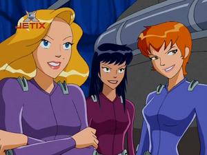 Pam, Alice and Crimson