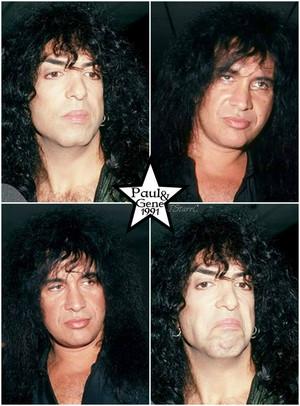 Paul and Gene ~Los Angeles, California…October 3, 1991