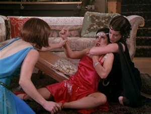 Phoebe and Priscilla Killing Pearl