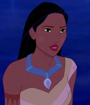 Pocahontas' Tribunal look