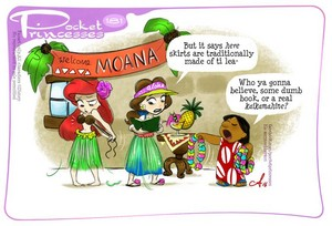 Pocket Princesses Comic: Welcome Moana!
