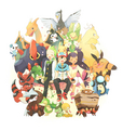 Pokemon Black And White - pokemon fan art