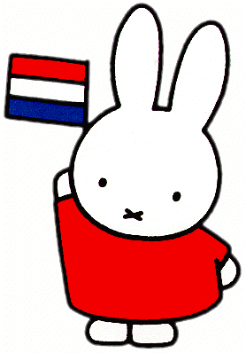 Rabbit with Flag.