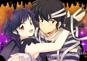 Ranma and Akane Halloween❣