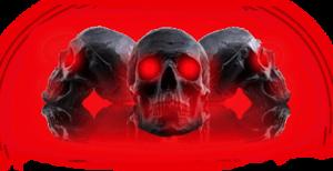 Red Eyes Skulls