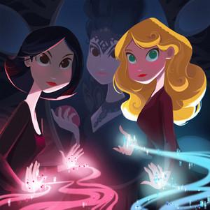 Regina, The Queen, And Emma Disney-fied