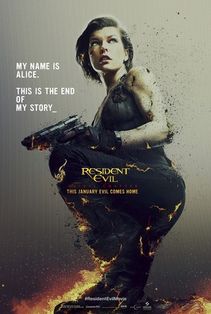 Resident Evil: The Final Chapter (2017) Poster