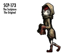 SCP-173 humanization