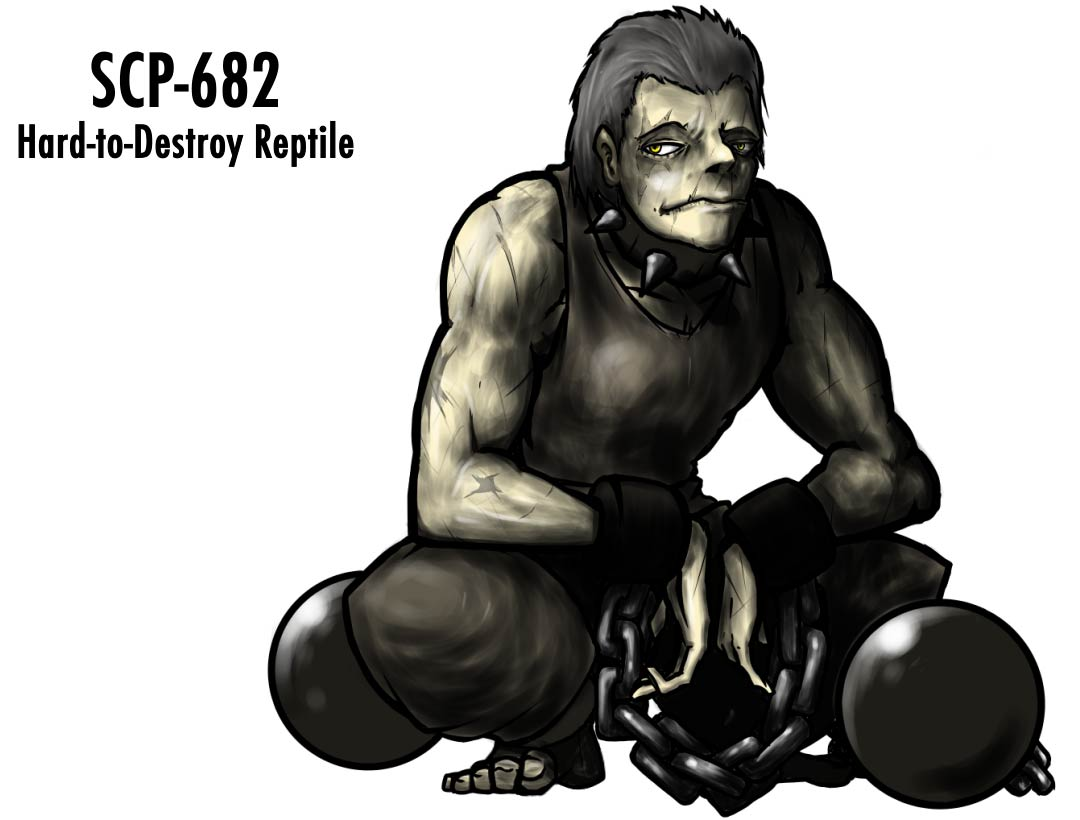 SCP-682 humanization