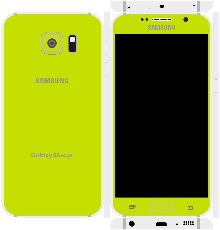 Samsung Galaxy S6 Edge Papercraft 11