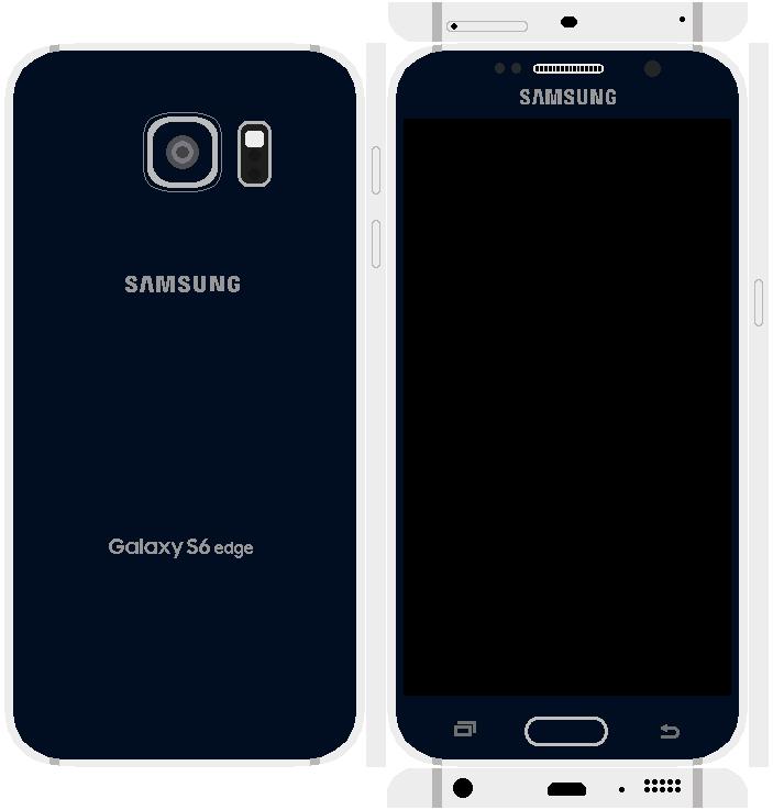 Samsung Galaxy S6 Edge Papercraft 12