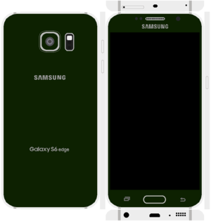 Samsung Galaxy S6 Edge Papercraft 13