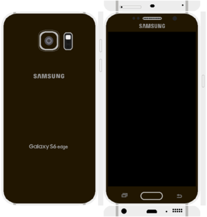 Samsung Galaxy S6 Edge Papercraft 14