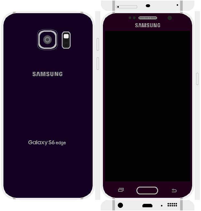 Samsung Galaxy S6 Edge Papercraft 16