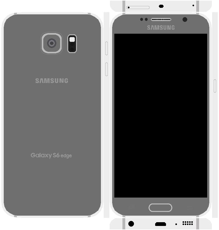 Samsung Galaxy S6 Edge Papercraft 3