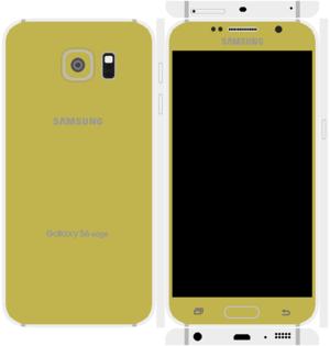 Samsung Galaxy S6 Edge Papercraft 4