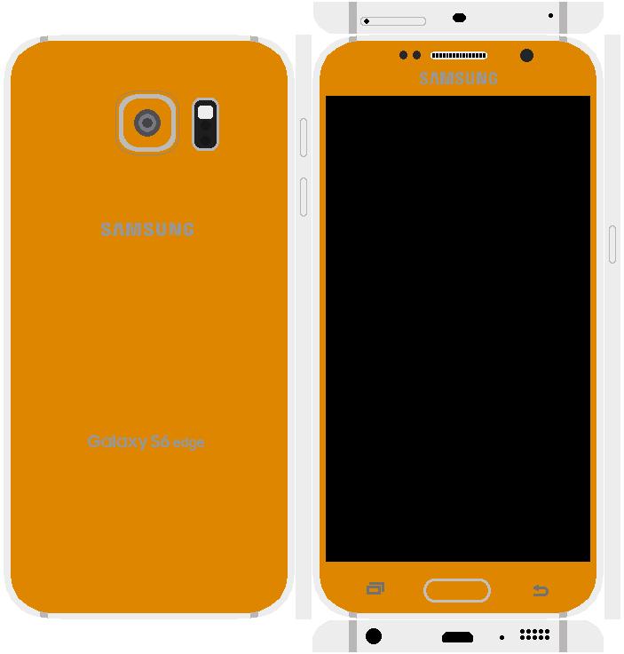 Samsung Galaxy S6 Edge Papercraft 7