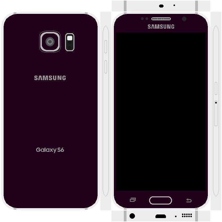 Samsung Galaxy S6 Papercraft 15