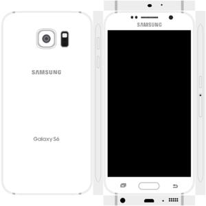 Samsung Galaxy S6 Papercraft 2