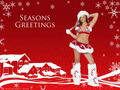 Season Greetings from Dessie Mitcheson - hot-women photo