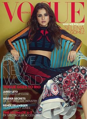Selena Gomez covers VOGUE Australia
