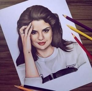Selena art pic