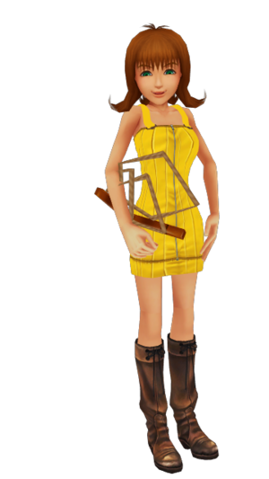 Selphie KH2 with Jump Rope FFVIII