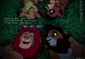 Simba and Kovu - the-lion-king-2-simbas-pride fan art
