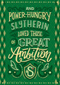 Slytherin - harry-potter fan art