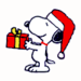 Snoopy - Christmas Edition - snoopy icon