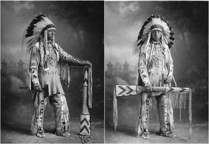 Son of утка Chief (Blackfoot-Siksika) 1925