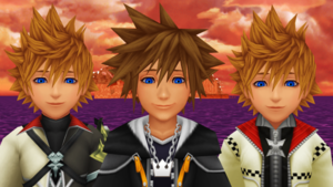 Sora Roxas and Ventus are Cool Dudes.