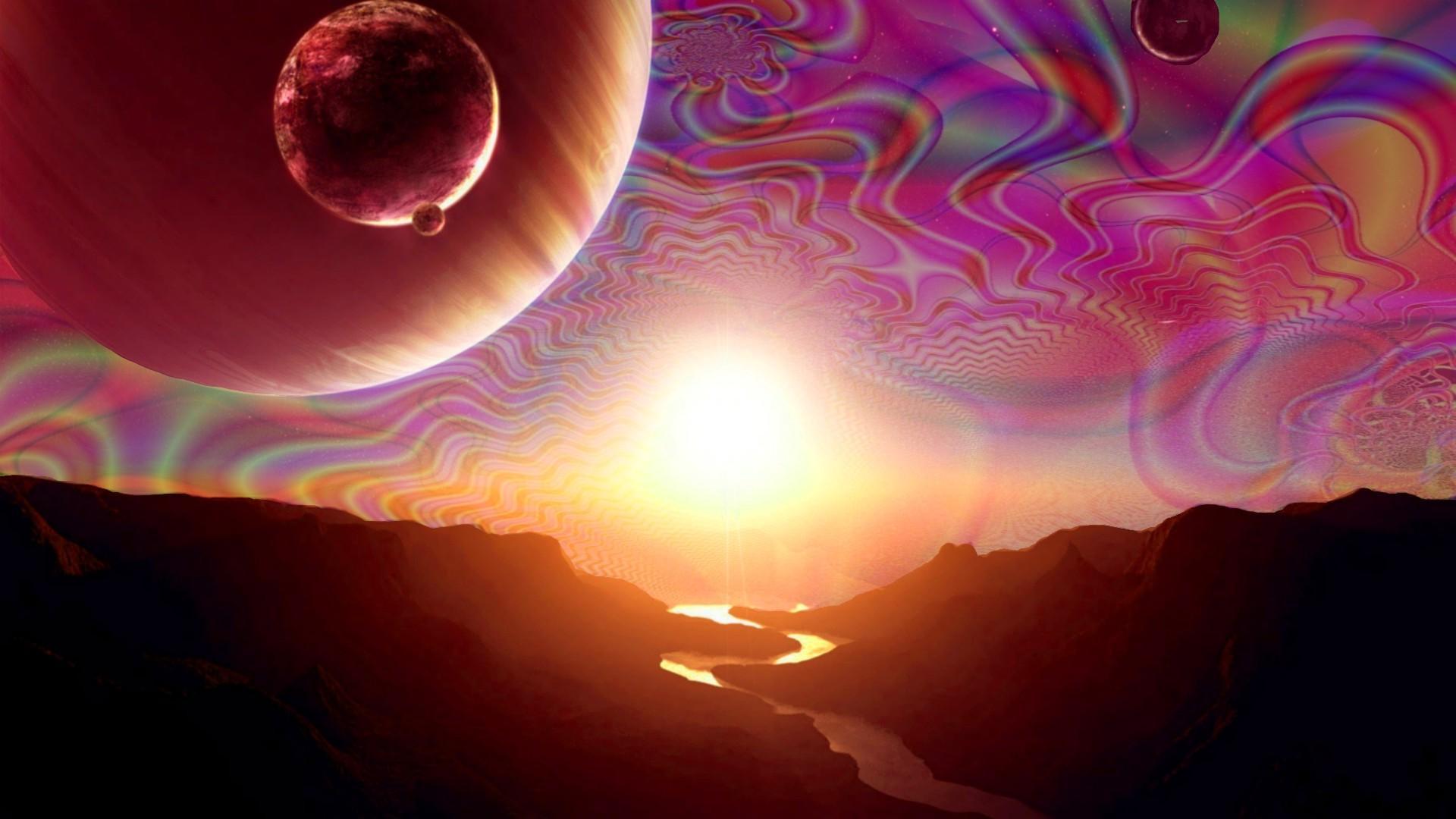 o espaço Acid Trip.
