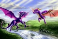 Spyro and Cynder - spyro fan art
