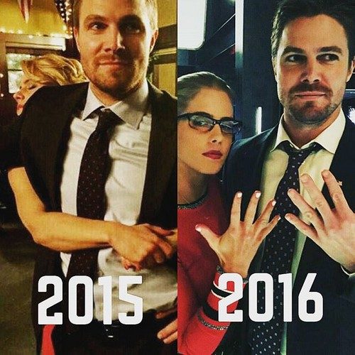 Stephen Amell Amp Emily Bett Rickards Images Stephen And