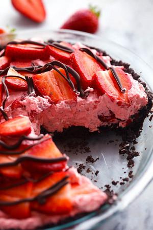 fresa Cheesecake