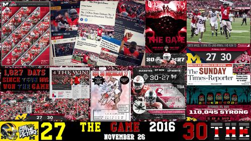 fútbol del estado de Ohio fondo de pantalla called THE GAME 2016