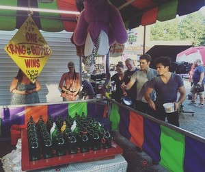 TVD 8x05 BTS Paul Wesley, Ian Somerhalder and Candice King