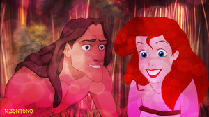 Tarzan And Ariel (Met Each other)