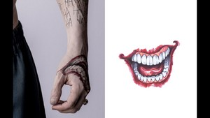 Tattoo Guide ~ The Joker