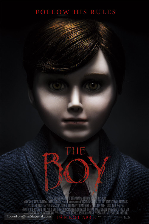 movie trailers images the boy poster hd wallpaper and background