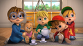 The Chipettes Dressed as The Chipmunks - the-chipettes photo