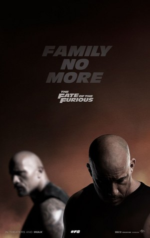 The Fate of the Furious (2017) - 'Family No More' Poster