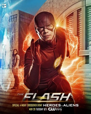 The Flash - 4 Night Crossover - Poster