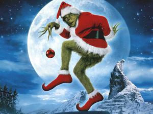 The Grinch how the grinch украл, палантин Рождество 33148450 1024 768