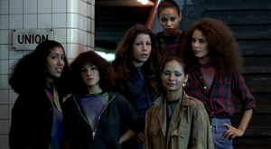 The Lizzies from the Warriors movie