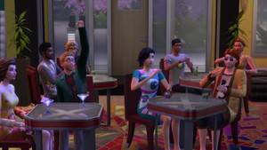 The Sims 4 City Living Official Trailer 1842